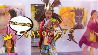 Unbox Daily: ALL NEW Jean Michel Basquiat Barbie Doll PLUS easy DIY Folding Art Gallery
