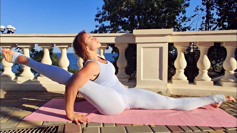 Workout STRETCH Legs Splits. Gymnastics. Contortion. Yoga. 芭蕾舞蹈 contortion gymnastics yoga