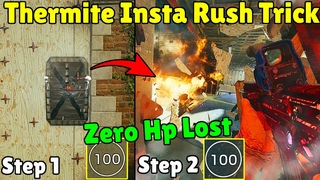This *New* Thermite Trick Will Let You Make The Perfect Rush EVERYTIME - Rainbow Six Siege