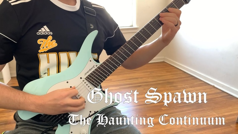 The Haunting Continuum Ghost Spawn Guitar Playthrough with Mooer GE200 and Kvlt Drums 2