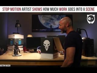 Bored Panda Art - Stop motion artist shows how much work...