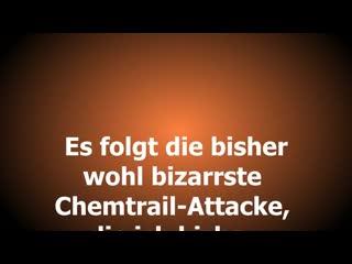 Bizarre Chemtrail Horror Picture Show Bonn