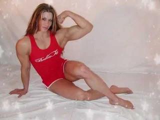 Female Bodybuilder Angela Salvagno
