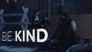 be kind — connor x kara [detroit: become human] gmv