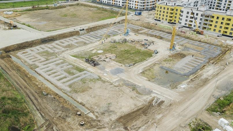 Отчет о ходе строительства ЖК «Ожогино» май 2020, изображение №9