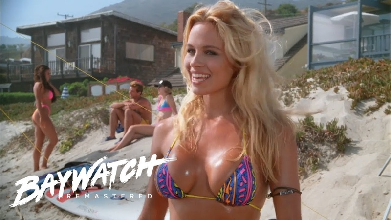 C J Turns Up To A Beach Pool Party But Things Turn Ugly Baywatch Remastered