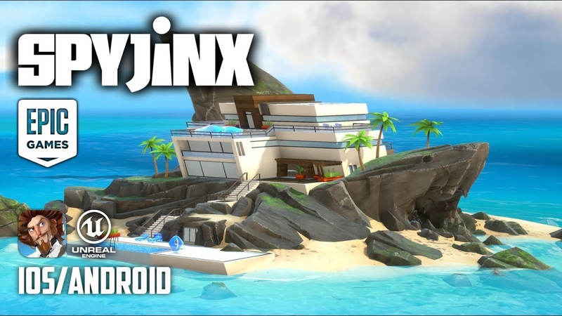 SPYJINX by Epic Games Android iOS BETA GAMEPLAY Unreal Engine 4