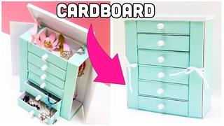 The BEST Jewelry Holder cardboard crafts diy storage