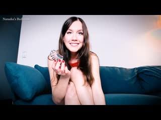 Natashas bedroom chastity contract (русские субтитры)