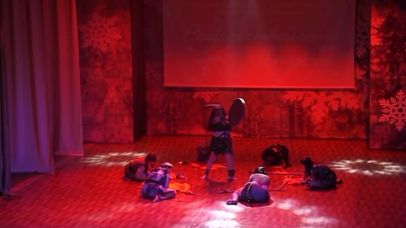 17 01 2021г фрагмент фестиваля Рождественские встречи танец Шоу Амазония г Юрга