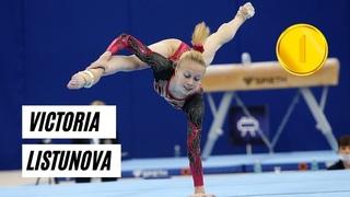 Victoria Listunova - Winner of the Russian Artistic Gymnastics Cup 2021 - All Around