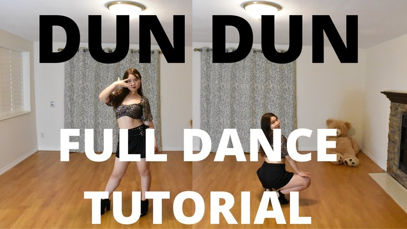 EVERGLOW 에버글로우 'DUN DUN FULL DANCE TUTORIAL MIRRORED PT.1 Lishalovedance