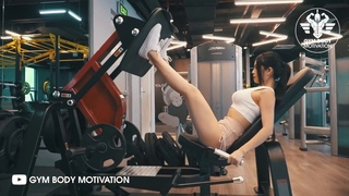 GLUTE WORKOUT WITH CLARA NGUYEN - GYM BODY MOTIVATION
