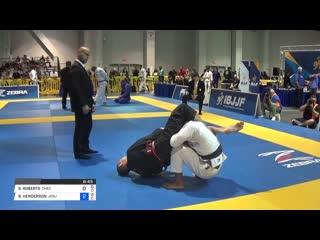 Sean roberts vs ben henderson _ american national 2018. black-belt/adult/male/middle - final