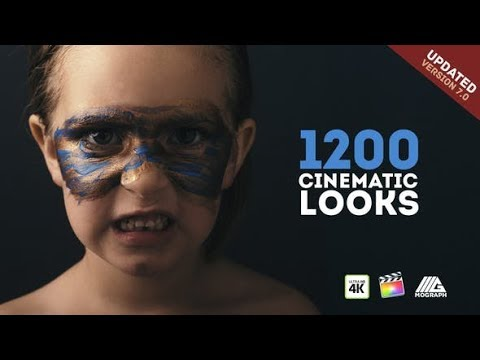 LUTs Color Presets Pack Cinematic Looks Final Cut videohive