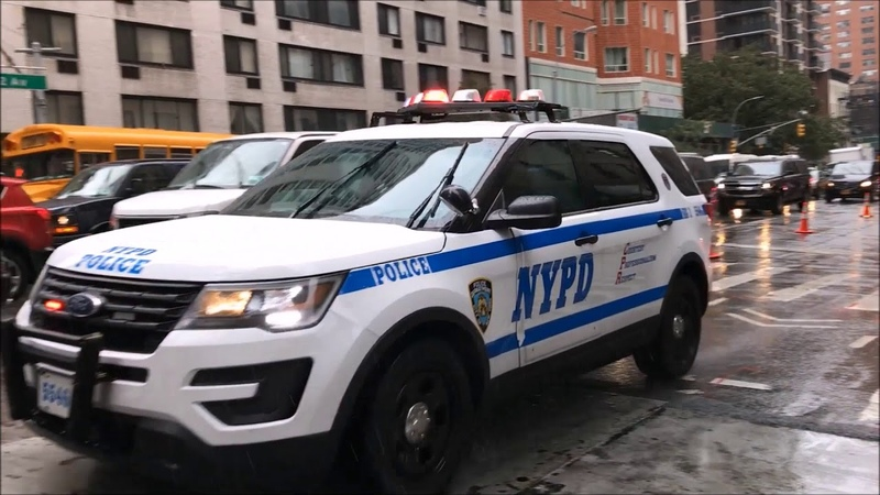COMPILATION OF NYPD UNITED STATES SECRET SERVICE ESCORTING DIPLOMATS DURING U N MEETINGS 3