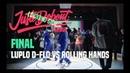 2019 JUSTE DEBOUT SEOUL / Locking Final Luplo D flo vs Rolling Hands   Danceprojectfo