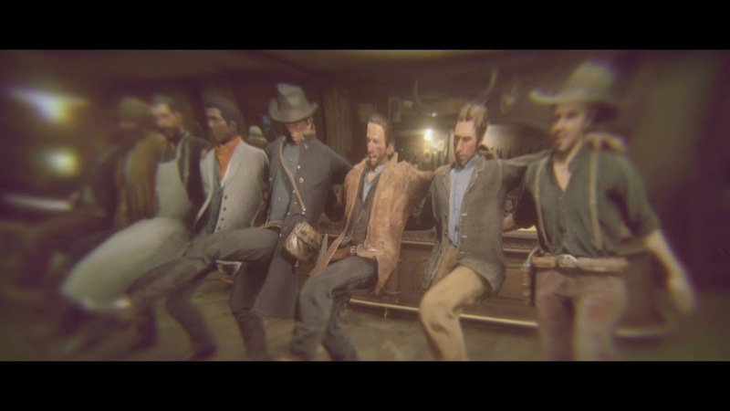 Arthur Gets Drunk with Lenny Funny Moment Red Dead Redemption 2 A Quiet Time Mission