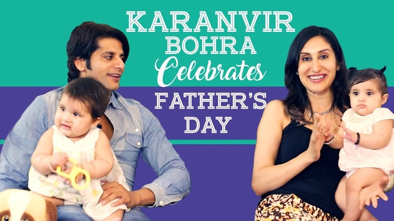 Karanvir Bohra and his twin baby girls celebrate Father's Day | TV Interview | Pinkvilla