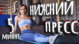 Тренировка на низ живота №1 || Нижний пресс за 5 минут