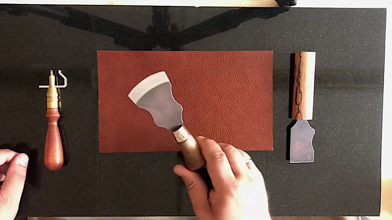 Обзор полукруглого ножа для шерфовки
