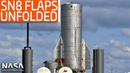 SpaceX Boca Chica - SN8 Flaps Unfolded - Super Heavy LOX Stack 1