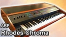 ARP Rhodes Chroma Ambient Chillout Music Synth Demo