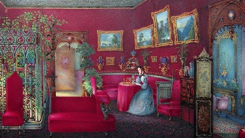 Мебель для всех причуд тела Эпоха историзма в России 1820 е 1890 е гг