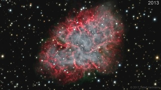 M1: The Incredible Expanding Crab Nebula