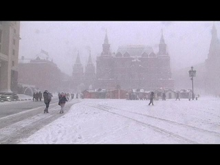 Snow in Moscow: Winter wonderland or traffic hell