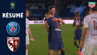 PARIS SAINT-GERMAIN - FC METZ(1 - 0 ) - Résumé - (PARIS SG - FC METZ) / 2020-2021