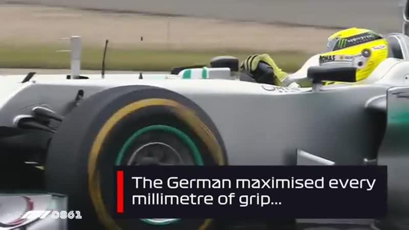 Росберг одержал первую победу Mercedes с 1955 года | Гран При Китая 2012
