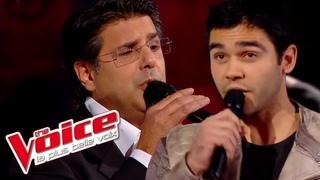 Johnny Hallyday – Derrière l'Amour   Adrien Abelli VS Santo Barracato  The Voice France 2014  Battle