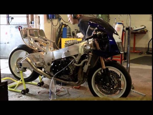 Suzuki Gsxr600 Srad with Busa 1340 engine