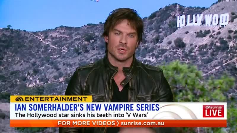 We spoke to Hollywood star @IanSomerhalder about his new @Netflix vampire series VWars