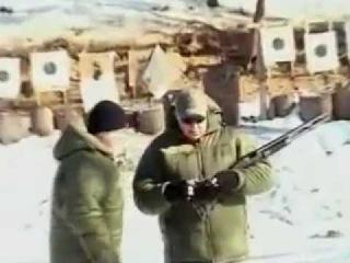 Crash-Test Защитные очки VS дробовик - украинские стрелки