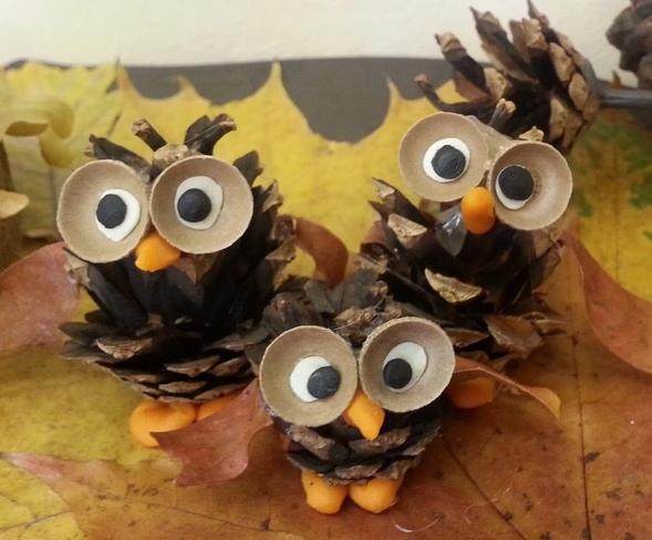 Совушки из шишек - мастер-классы и идеи, материалы природные, поделки осенние, игрушки на елку, поделки из природных материалов, из шишек, поделки из шишек, шишки, своими руками, для детского сада, для школы, игрушки из шишек, птички из шишек, мастер-класс, идеи, как сделать сову из шишки, как сделать сову своими руками, сова из шишки своими руками,