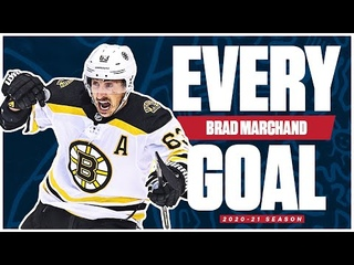 Every Brad Marchand Goal From The 2020-21 NHL Season