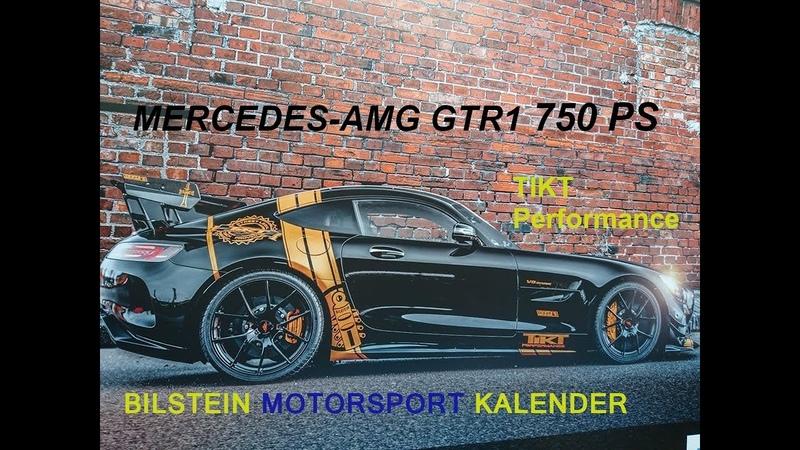 Mercedes AMG GTR 750 PS Bilstein Motorsport Kalender 2020
