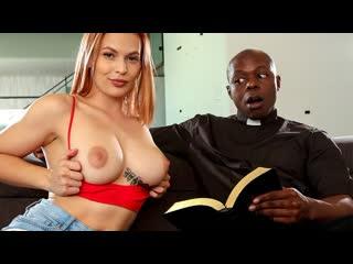 Sloan Harper - Accepting The Lords Love (Big Tits, Teen, Blowjob, Hardcore, Big Ass, Interracial, Redhead, Doggystyle)