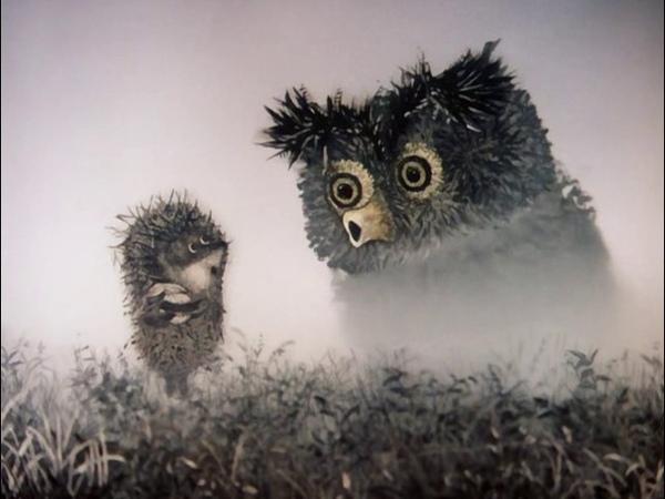 Ёжик в тумане Юрий Норштейн 1975 г. Мультфильм Детский Рисованный