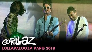 Gorillaz - Lollapalooza Paris 2018, France (Full Show)